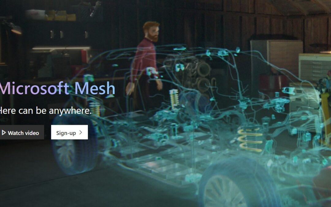 Microsoft Mesh: What augmented reality could mean for the future of your business